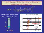 cavity expansion critical state model for evaluating ocr in clays from piezocone tests