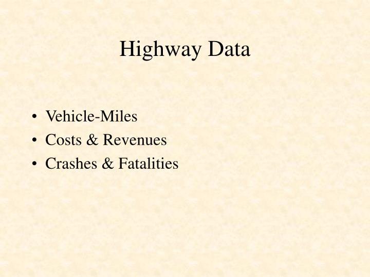 Highway Data