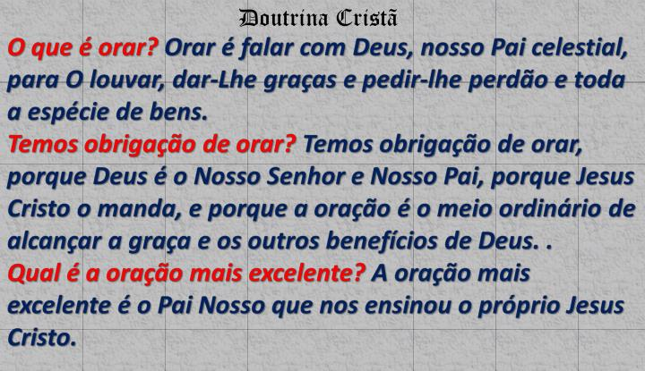 Doutrina Cristã