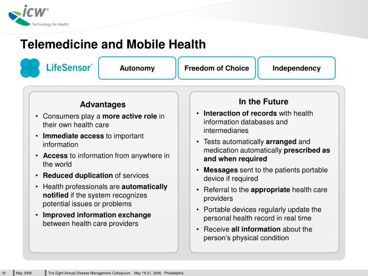 Telemedicine and Mobile Health