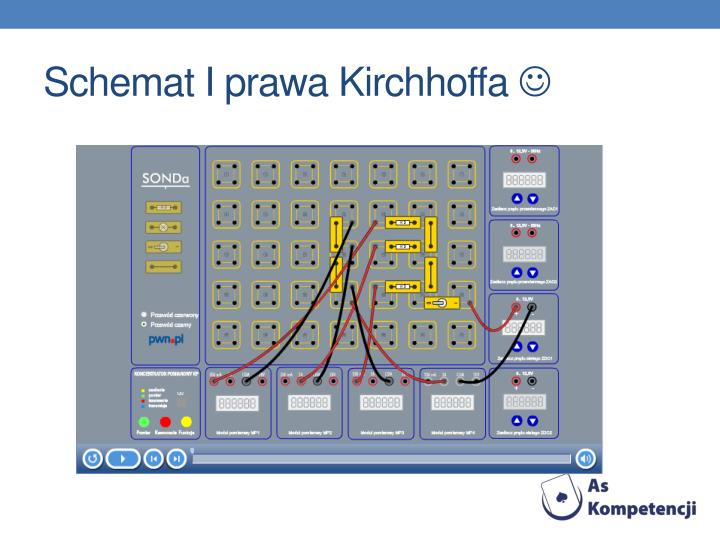 Schemat I prawa Kirchhoffa