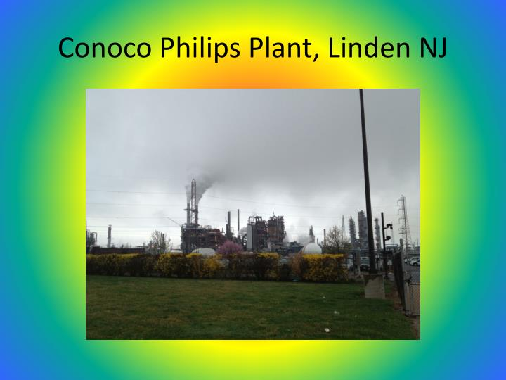Conoco Philips Plant, Linden NJ