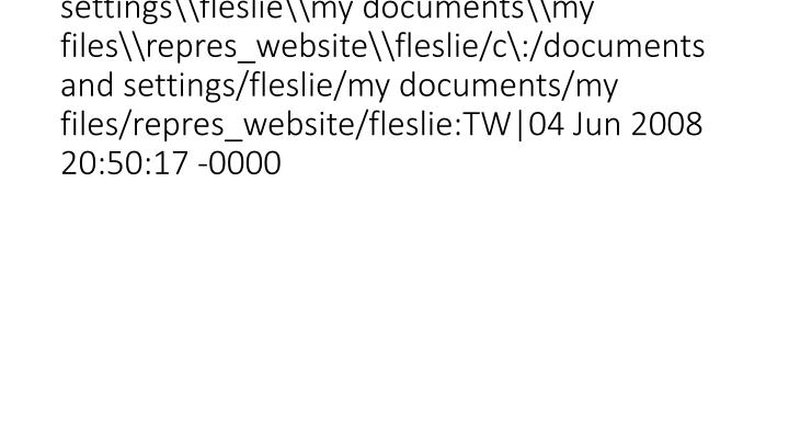 vti_syncwith_localhost\c\:\documents and settings\fleslie\my documents\my files\repres_website\fleslie/c\:/documents and settings/fleslie/my documents/my files/repres_website/fleslie:TW|04 Jun 2008 20:50:17 -0000