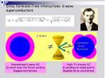 dirac fermions from interactions d wave superconductors2
