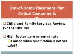 out of home placement plan critical components1