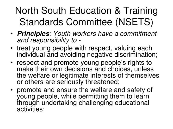 North South Education & Training Standards Committee (NSETS)