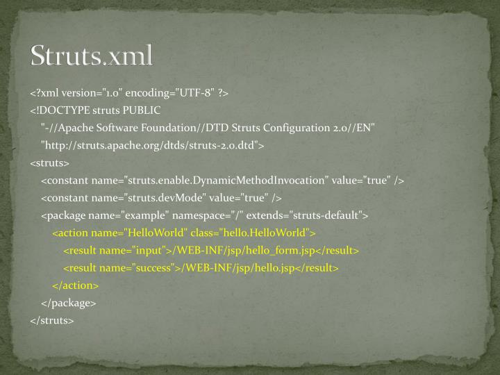 Struts.xml