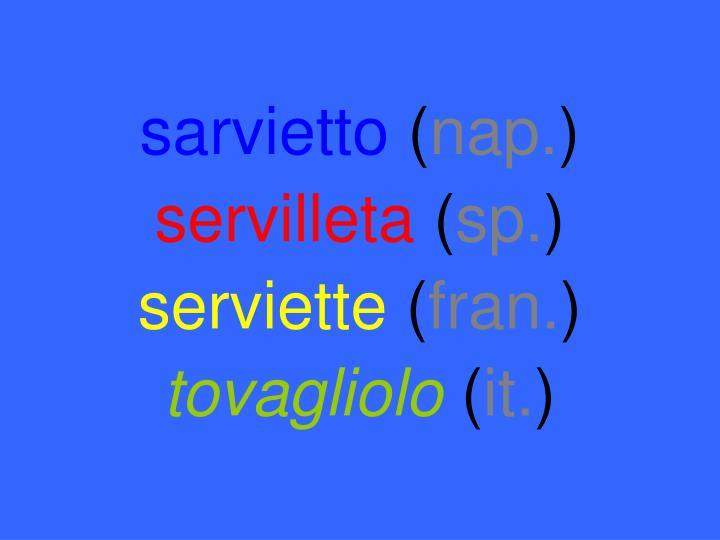 sarvietto
