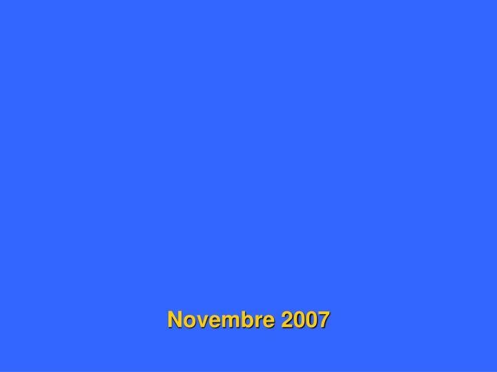 Novembre 2007