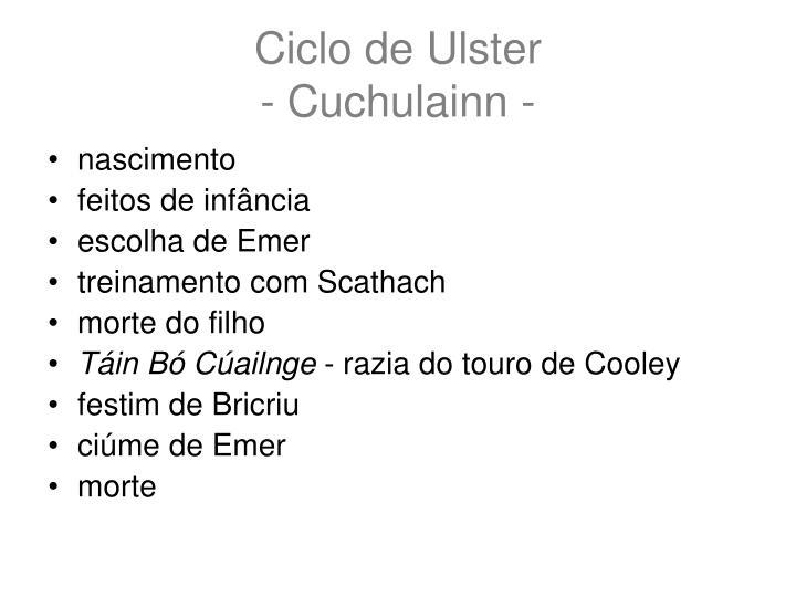 Ciclo de Ulster