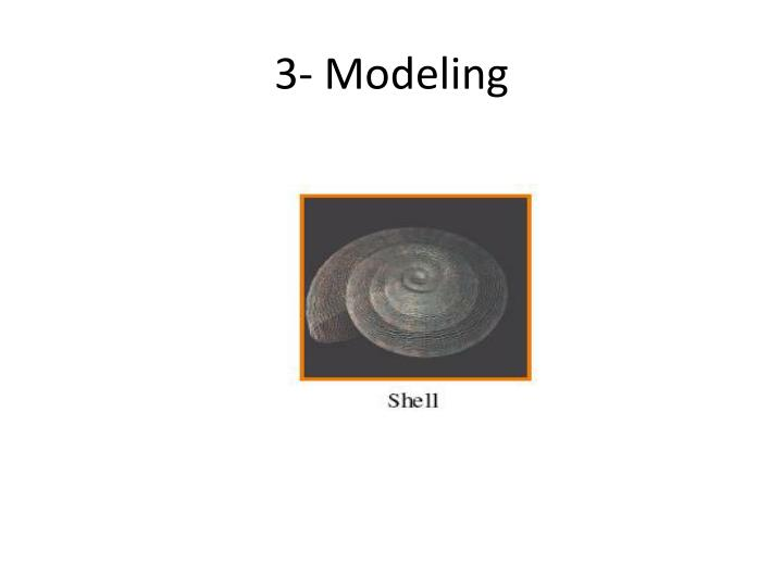 3- Modeling
