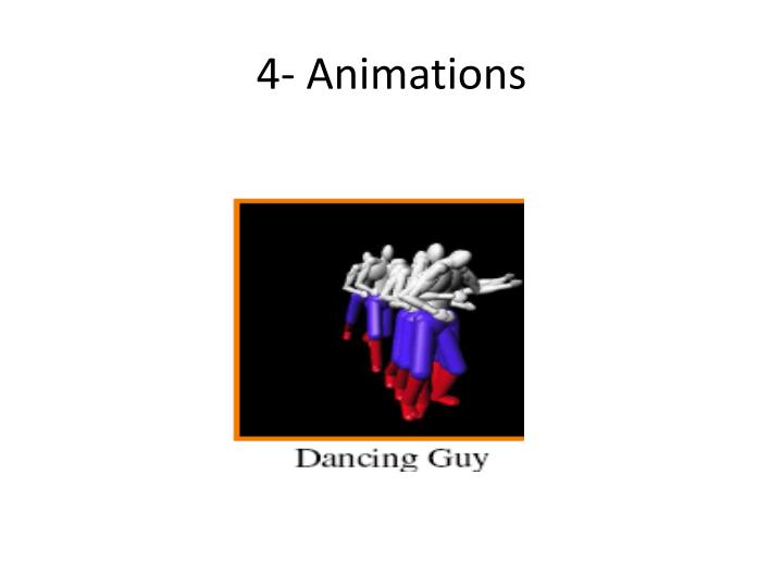 4- Animations