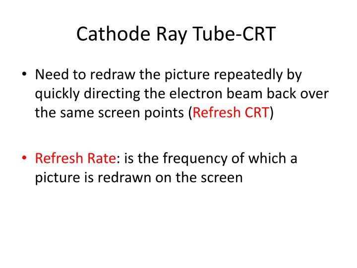 Cathode Ray Tube-CRT