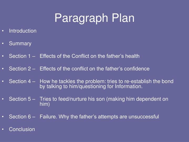Paragraph Plan