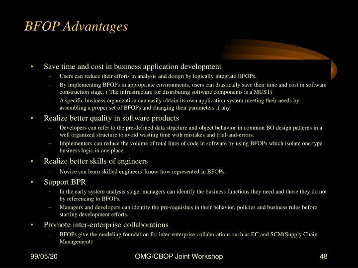BFOP Advantages