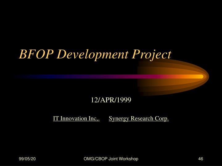 BFOP Development Project