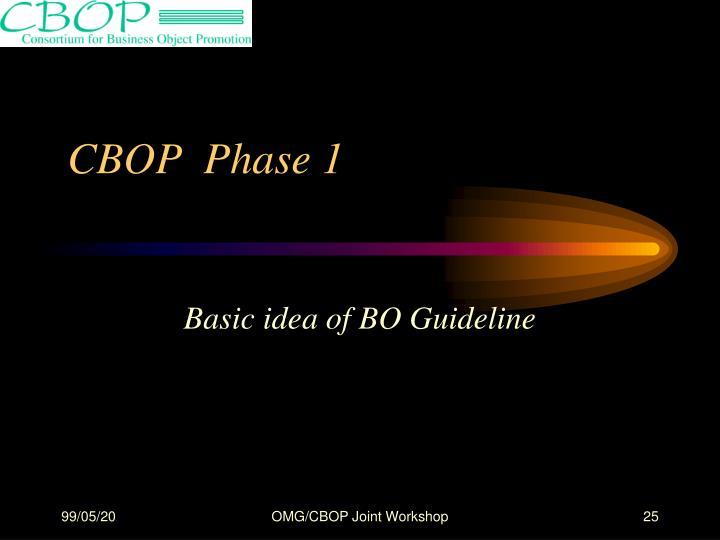 CBOP  Phase 1