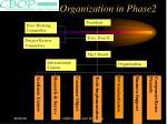organization in phase2