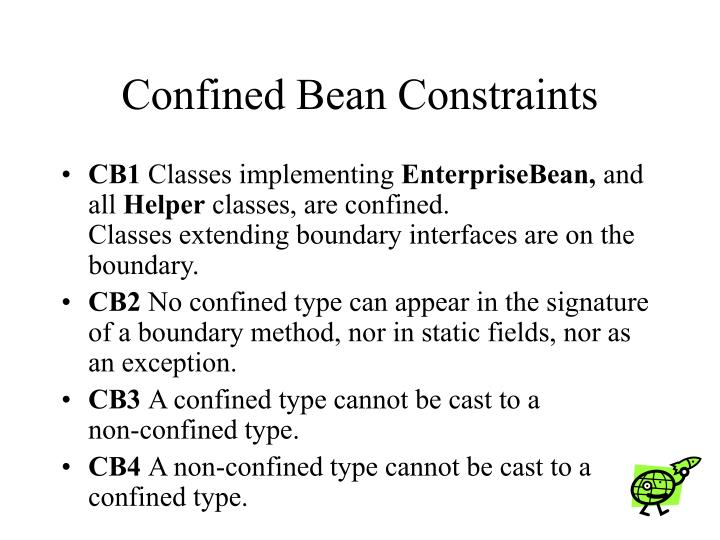 Confined Bean Constraints