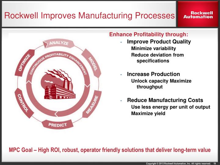 Rockwell Improves Manufacturing Processes
