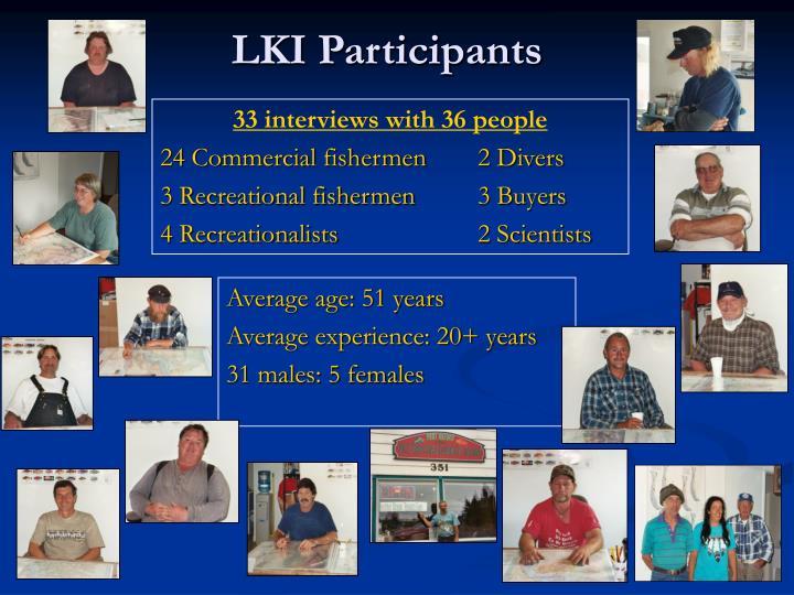 LKI Participants