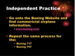 independent practice1