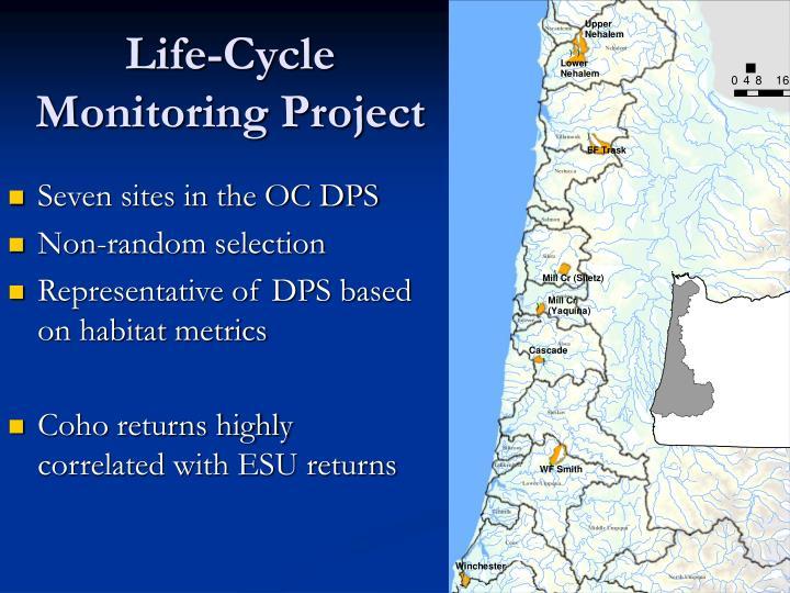 Life-Cycle Monitoring Project