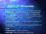types of amnesia s1