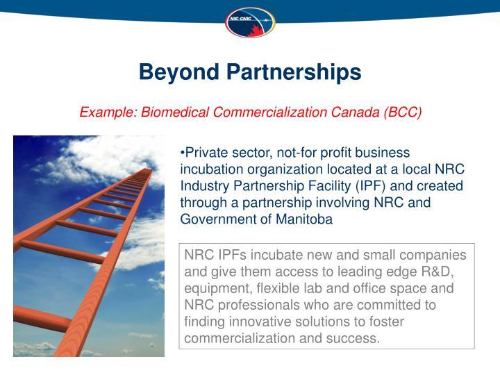 Beyond Partnerships