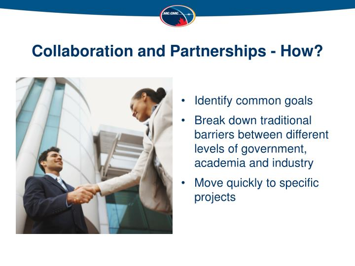 Collaboration and Partnerships - How?