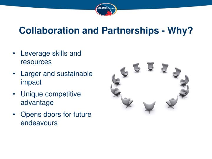 Collaboration and Partnerships - Why?