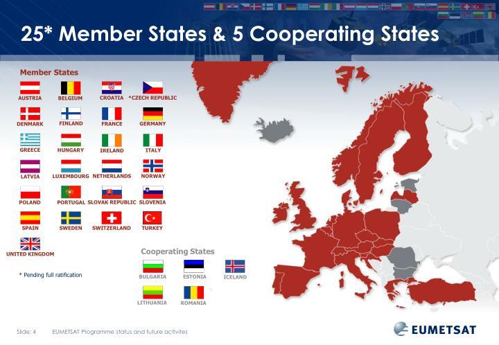 25* Member States & 5 Cooperating States