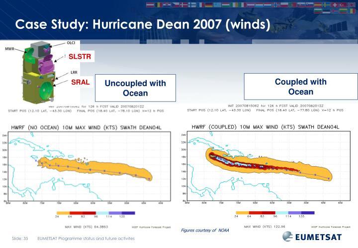 Case Study: Hurricane Dean 2007 (winds)
