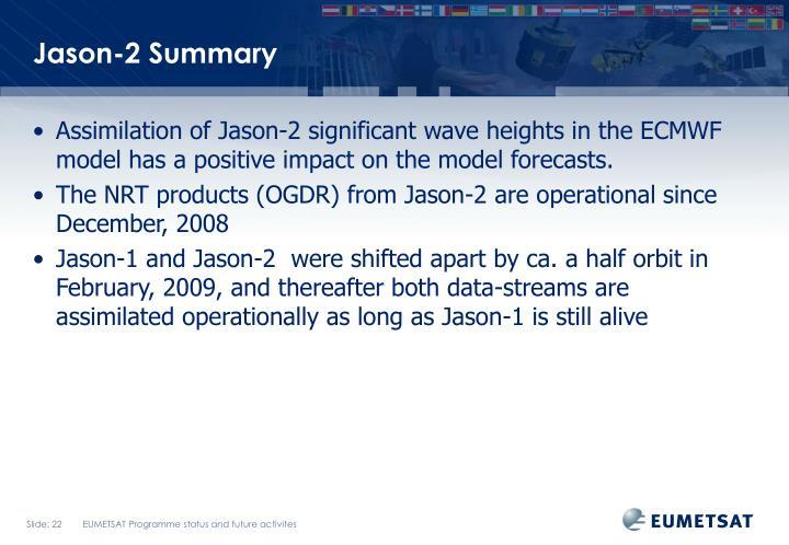 Jason-2 Summary