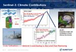 sentinel 3 climate contributions
