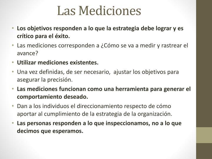 Las Mediciones