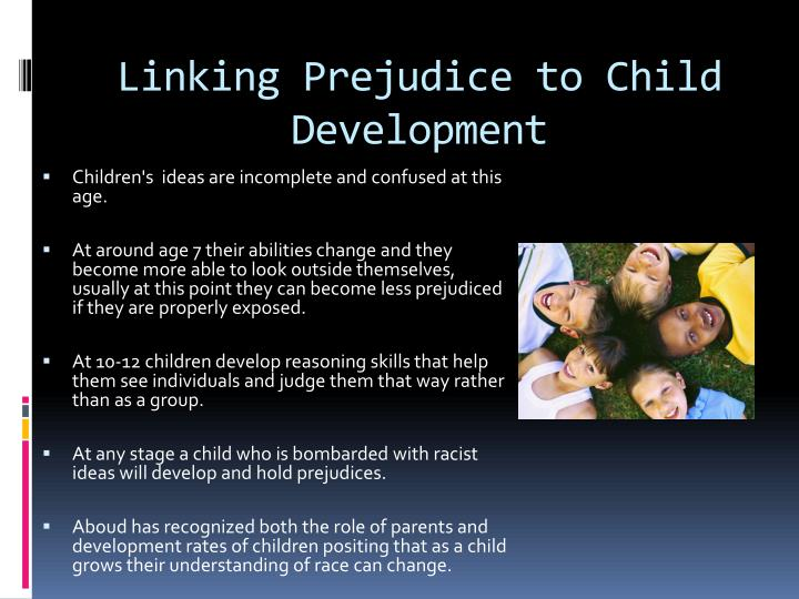 Linking Prejudice to Child Development