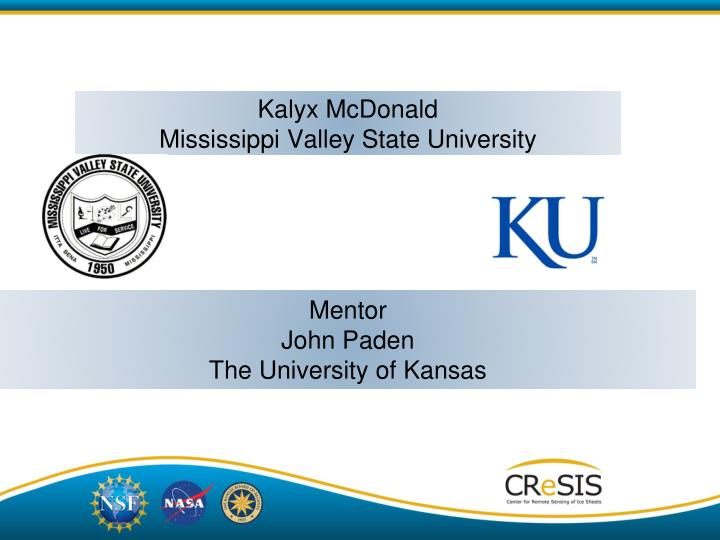 Kalyx mcdonald mississippi valley state university