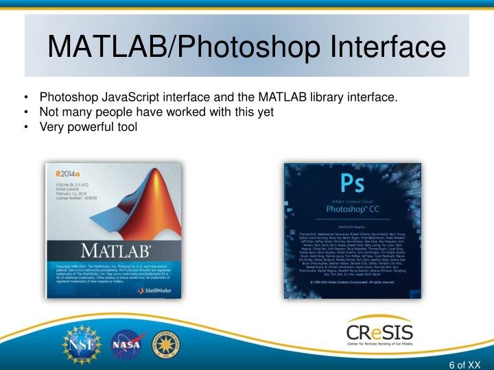 MATLAB/Photoshop Interface