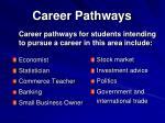 career pathways