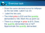 exercise task