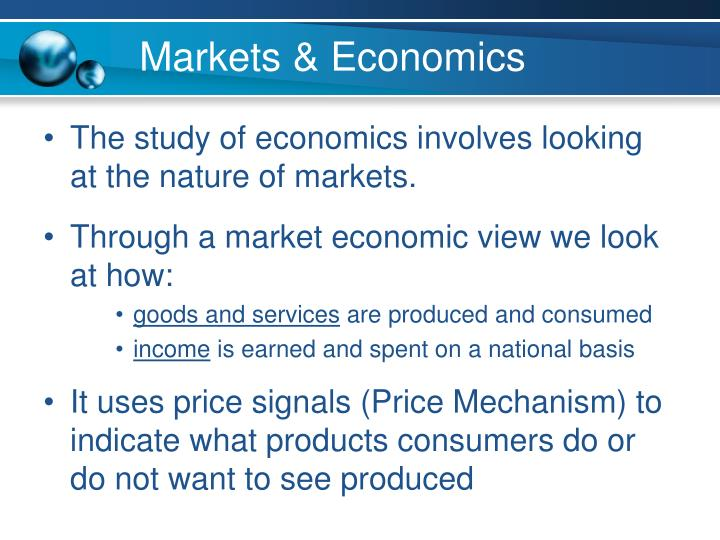 Markets & Economics