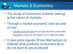 markets economics