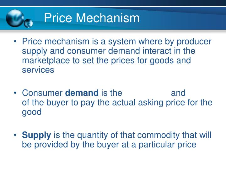 Price Mechanism