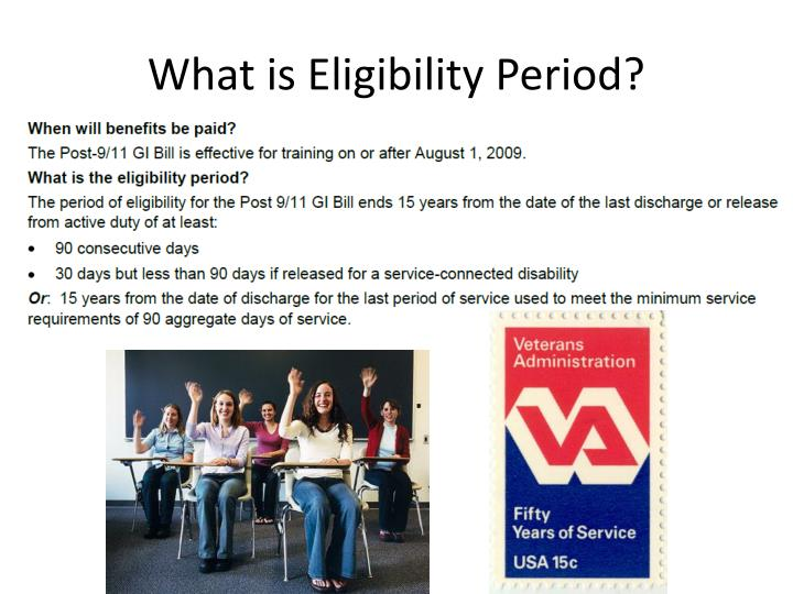 What is Eligibility Period?