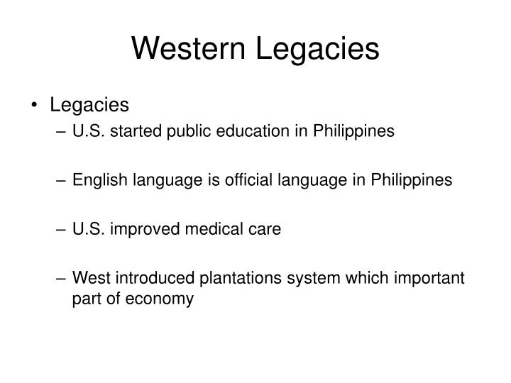 Western Legacies