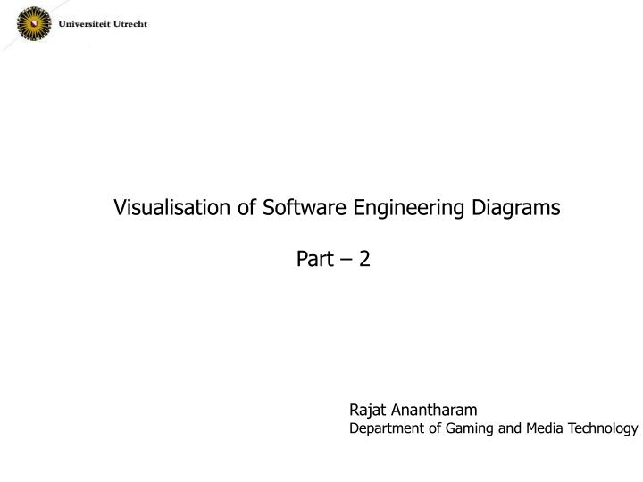 Visualisation of Software Engineering Diagrams