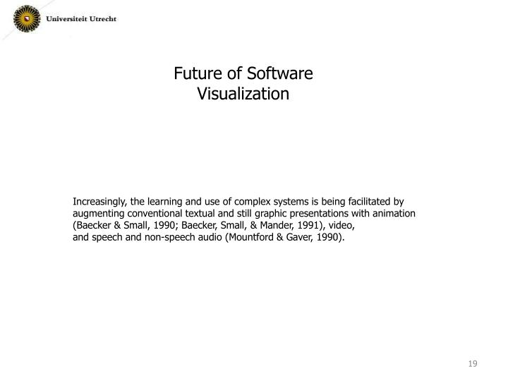 Future of Software Visualization