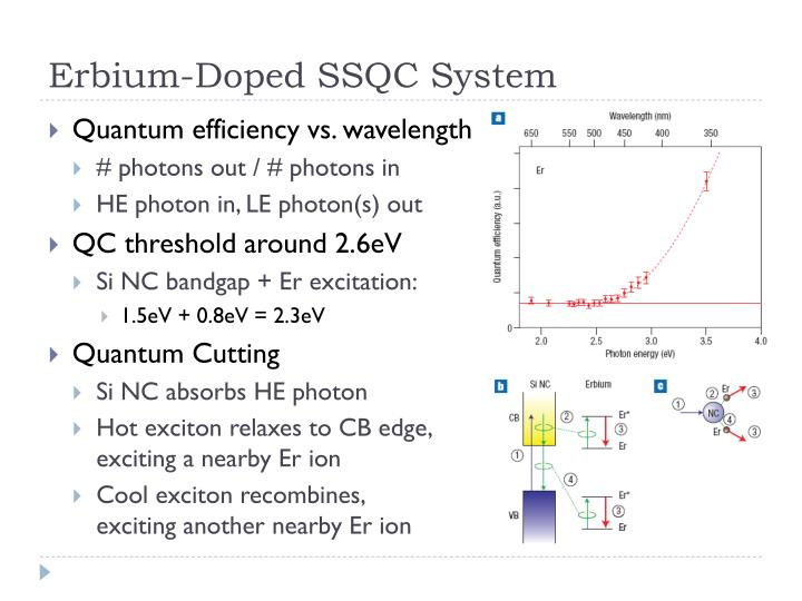 Erbium-Doped SSQC System