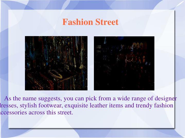 Fashion Street